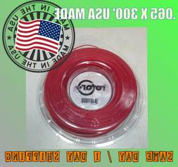 .065 X 300' ROUND TRIMMER LINE STRING USA MADE PROFESSIONAL