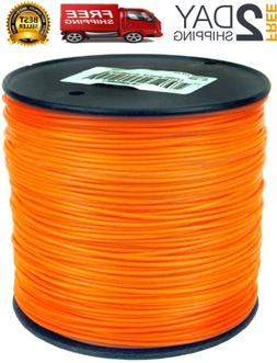 "095"" STRING TRIMMER LINE 855ft Replacement Spool Refill Weed"