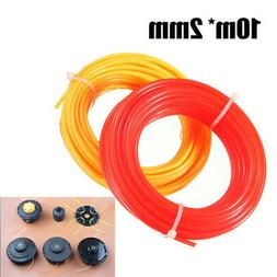 10m*2mm Strimmer Line Nylon Cord Wire String For Grass Trimm