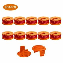 10Pack For WORX WA0010 Replacement Grass String Trimmer Spoo
