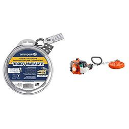 Husqvarna 128LD 17 in. String Trimmer with 50 ft. Donut .095