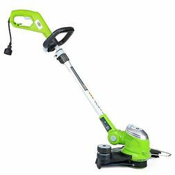 """GreenWorks Corded 15"""" Electric Trimmer Edger Weed Eater Gras"""