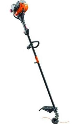 """17"""" 25cc Straight Shaft Gas Weed Grass Trimmer Dual Line Bum"""