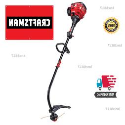 Craftsman 25cc 2-Cycle Curved Shaft Weedeater Gas Trimmer At