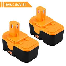 18V 3.6AH for Ryobi battery Replacement Ryobi ONE+ P100 P107