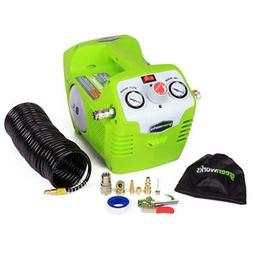 Greenworks 4100102 40V Cordless Lithium-Ion 1/2 Gallon Air C