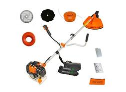 CHIKURA 52cc Heavy Duty 5 in1 Petrol Strimmer Grass Trimmer