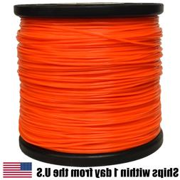5lb .095 Star Orange Commercial String Trimmer Line Fits Ech
