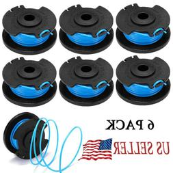 6 Roll String Trimmer Replacement Spool Compatible With Ryob