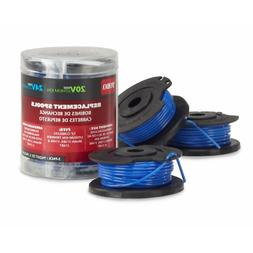 Toro 88524 3-Pack Replacement Spools Trimmers, 20/24-volt, 1
