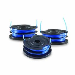 Toro 88528 3-Pack Dual Line Replacement Spool for 48-Volt Tr