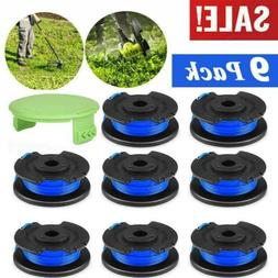 9Pack String Trimmer Replacement Spool Line Weed Eater Edger