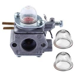 HIPA Carburetor with Primer Bulb for Troy-Bilt TB80EC TB32EC