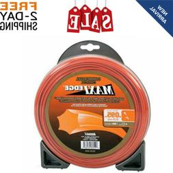 "Commercial String Trimmer Line .095"" x 100' Maxi Edge Univer"
