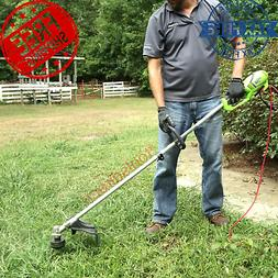 Corded Electric String Trimmer Weed Eater Lawn Wacker Straig