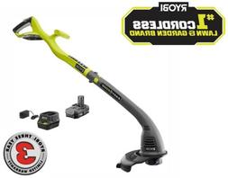 RYOBI Cordless Electric Weed Eater String Trimmer Wacker Edg