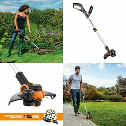 WORX Cordless Grass String Trimmer Weed Eater Edger Lawn Out