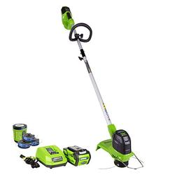 Greenworks 12-Inch 40V Cordless String Trimmer with Extra 3