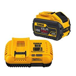 DEWALT 60V Li-Ion 9.0 Ah FlexVolt Fan-Cooled Fast Charger DC