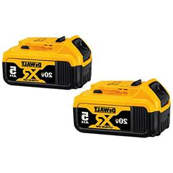 DeWalt dcb205 x 2 20-Volt  5.0Ah Battery dcb115 Charger Bag