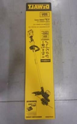 "DEWALT DCST925M1 20V MAX 13 "" String Trimmer w/ Charger & 4."