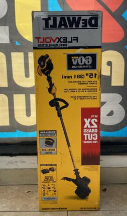 DeWalt DCST970X1S FLEXVOLT 60V MAX Li-Ion String Trimmer Kit
