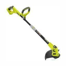 Dual Powered Electric Cordless String Trimmer 18V Tool Grass