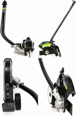 "Greenworks EDA75 7.5"" Edger Attachment, Black and Green"