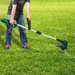 Gas Free Cordless String Trimmer Weed Grass Cutter With Batt