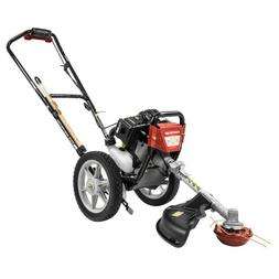 Gas Multi Function Wheeled String Trimmer 17 In 43cc With Mu