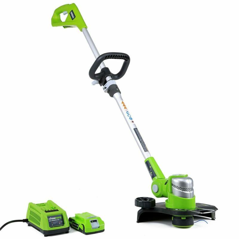12 inch 24v cordless string trimmer edger
