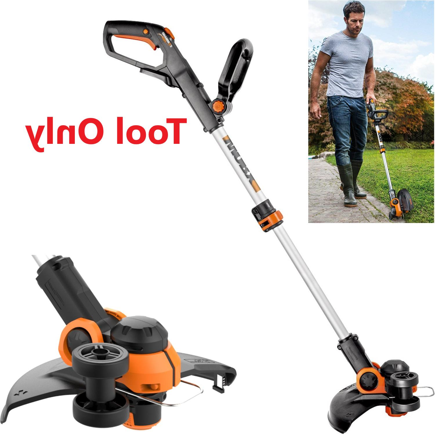 20v electric cordless string trimmer weed eater
