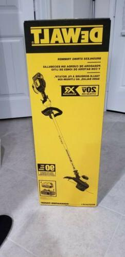 DEWALT 20V MAX 5.0 Ah Li-Ion Brushless String Trimmer DCST92