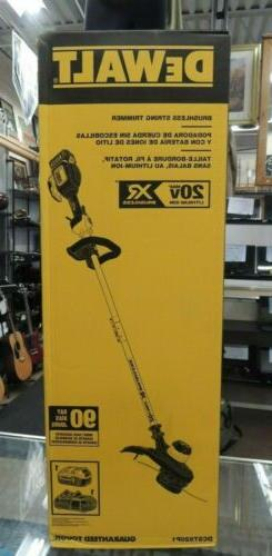 DeWalt 20V Max XR Brushless String Trimmer DCST920P1 w/ 5.0A