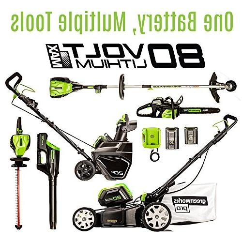 Greenworks Lithium-Ion in. Lawn