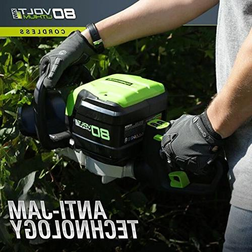Lithium-Ion 24 in. Hedge Trimmer