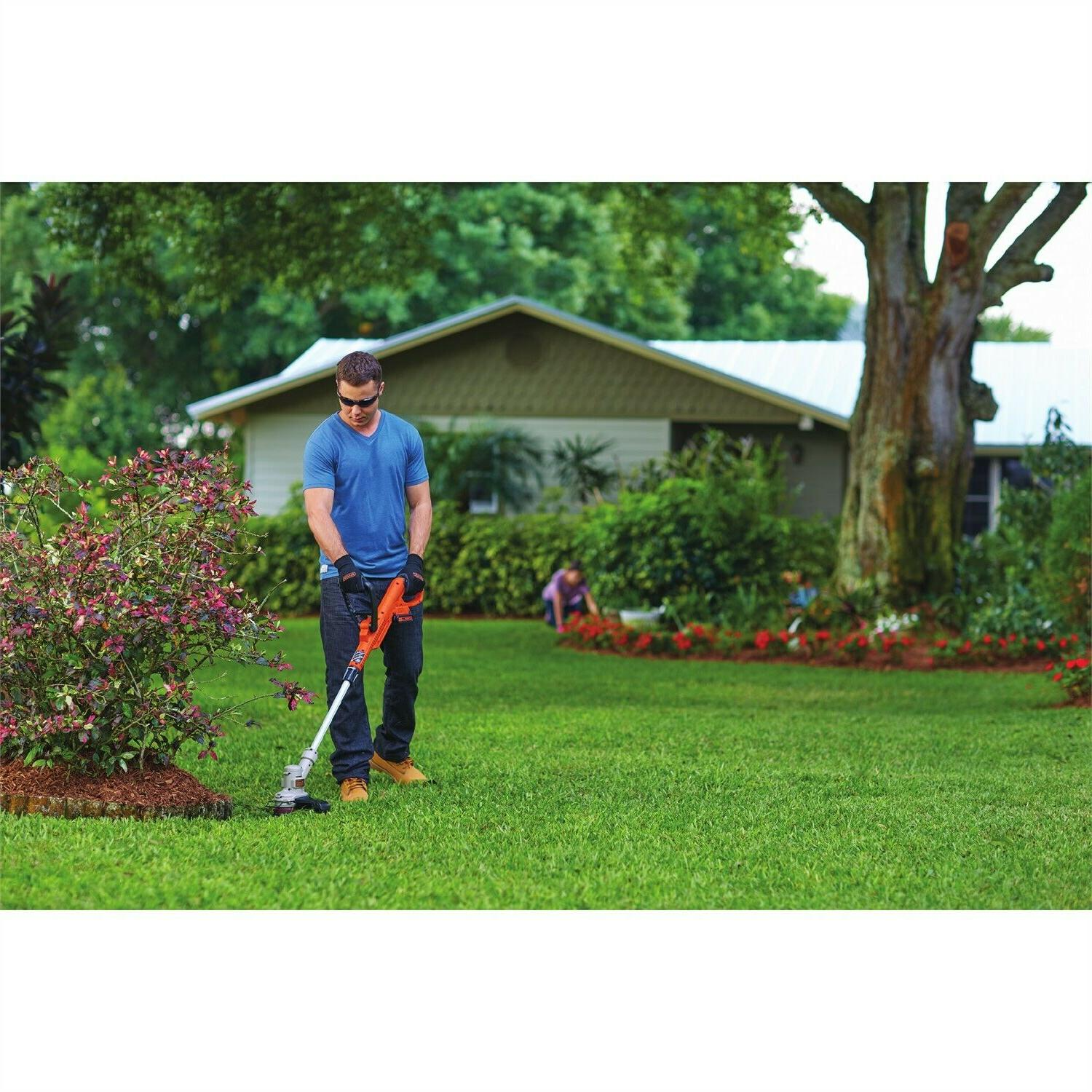 Black Weed Eater Grass String Trimmer Lawn New