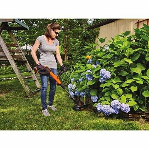 BLACK+DECKER Lithium Trimmer/Edger with