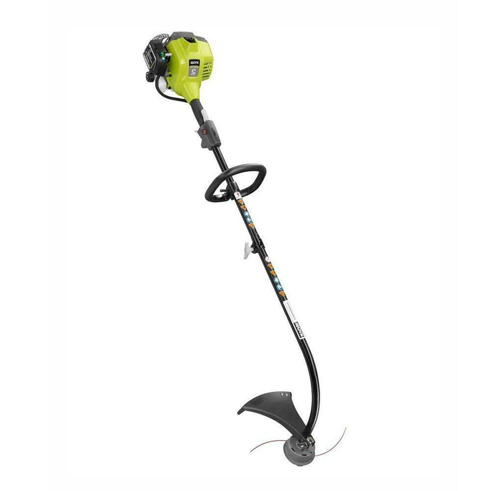 curved shaft gas string trimmer weed wacker