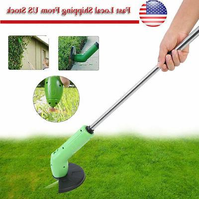 Cordless Powerful Electric Grass Weeds Mower Edger Weed Eater ToolS