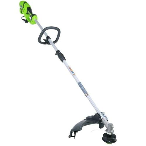 greenworks 2114502 10 amp 18 in straight