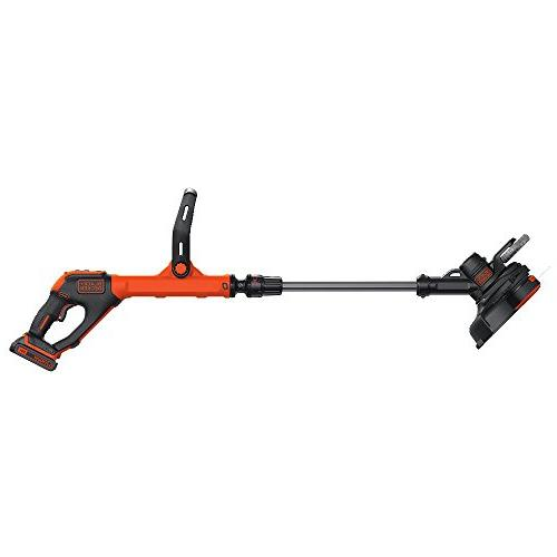 BLACK+DECKER MAX Lithium String Trimmer/Edger, 12""