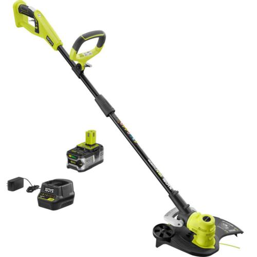 one 18 volt lithium ion cordless string