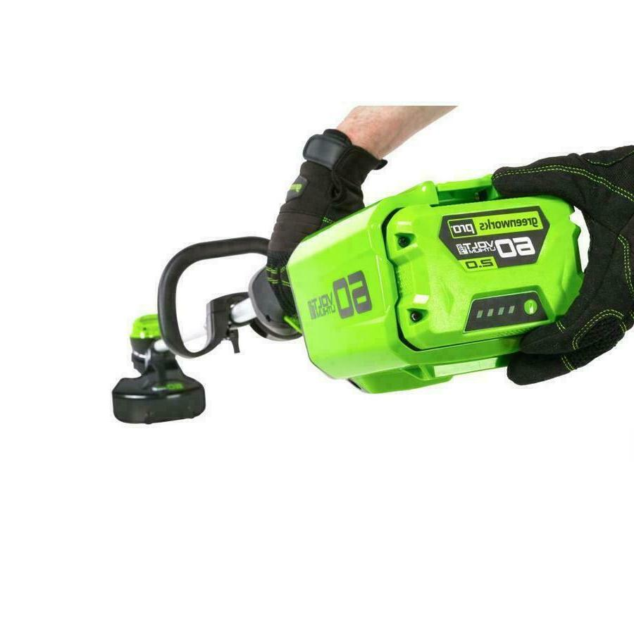 Greenworks 60v Max 16-in Straight Cordless Trimmer ONLY