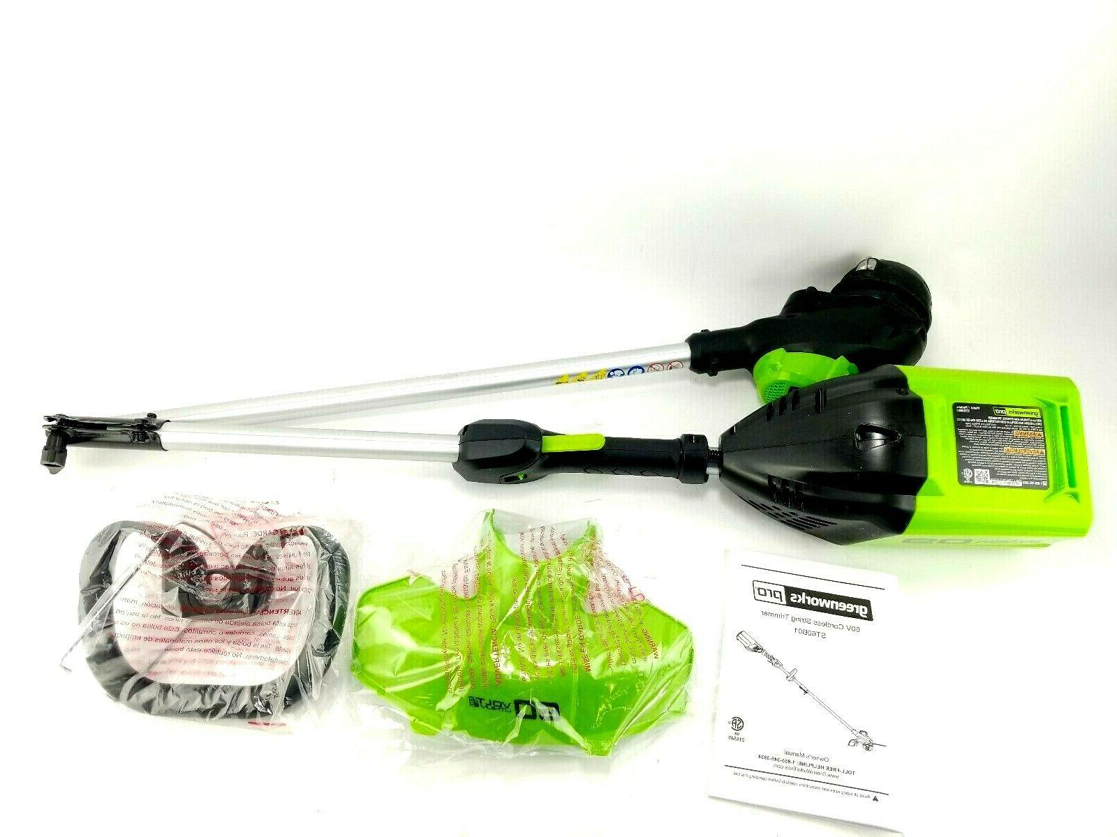 Greenworks Pro Max Cordless Trimmer Tool
