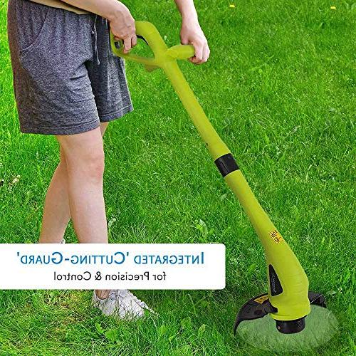SereneLife String Guard Electric Wacker Trimmer Edger,