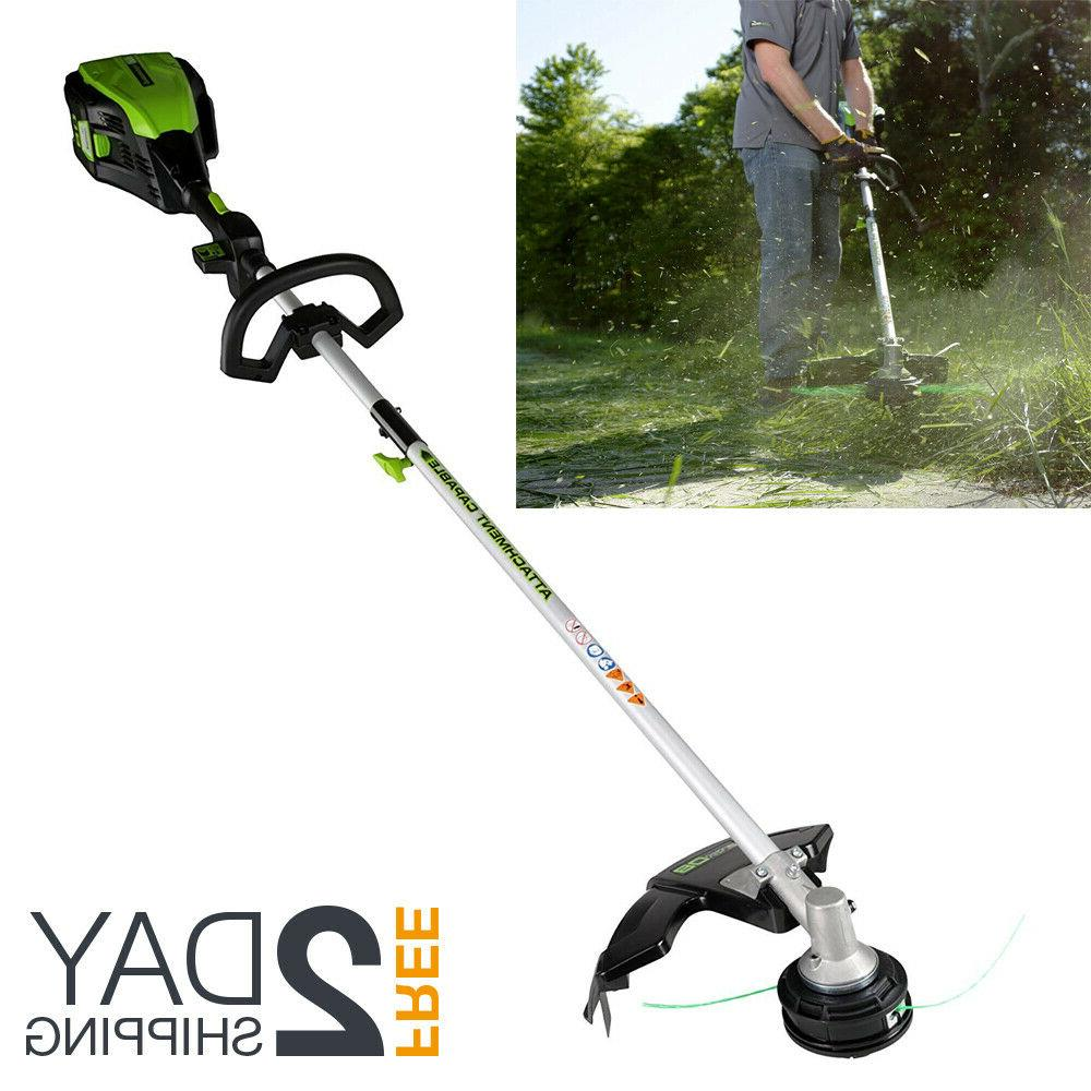 straight cordless shaft string trimmer weed eater