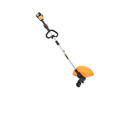Worx WG184 Cordless in-Line Edging, and Feed, Charger, 2 Batteries