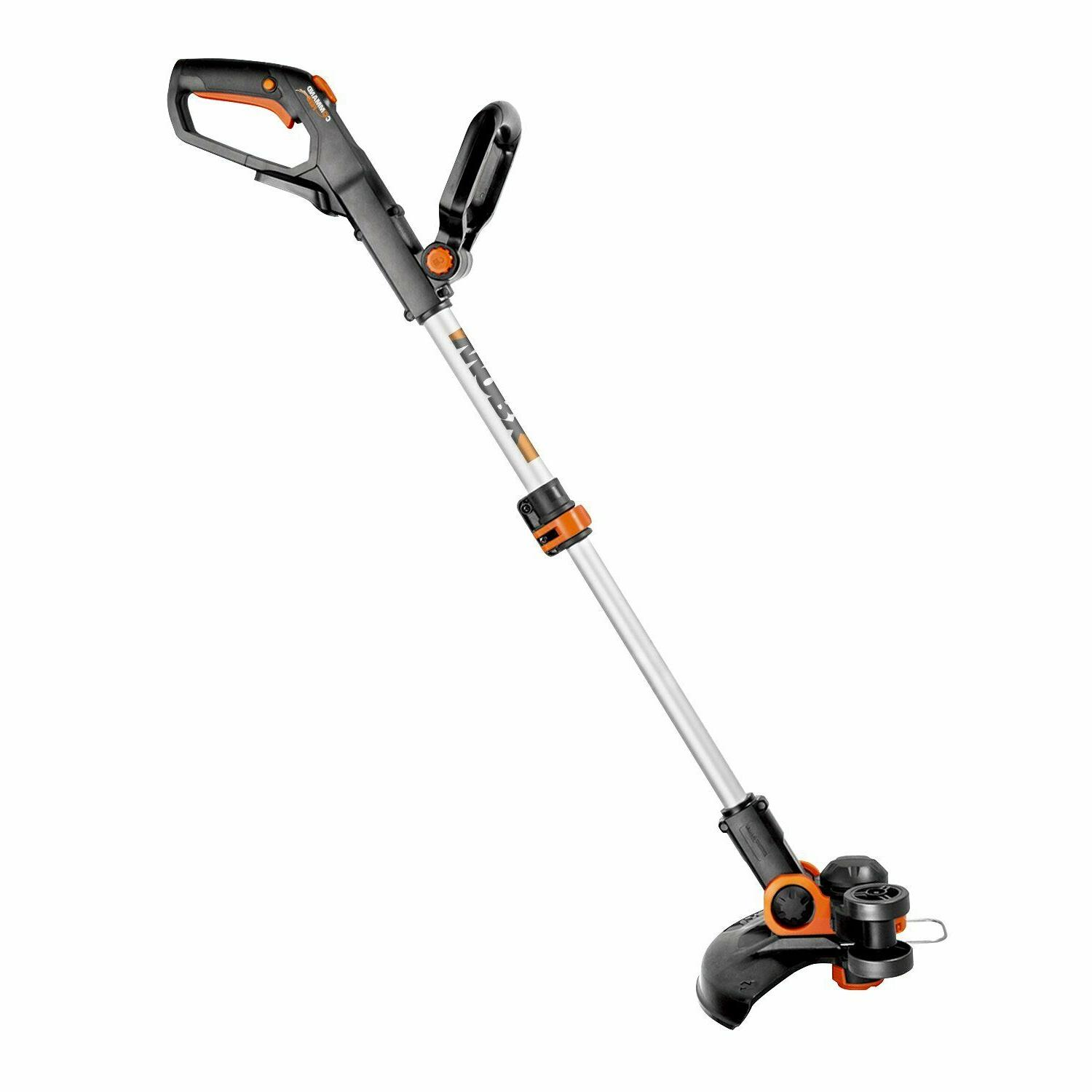 Cordless Electric Weed Eater Wacker Edger Grass Yard 20V