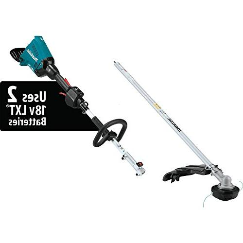 Makita XUX01M5PT X2 LXT Brushless Couple Shaft Kit with Attachment